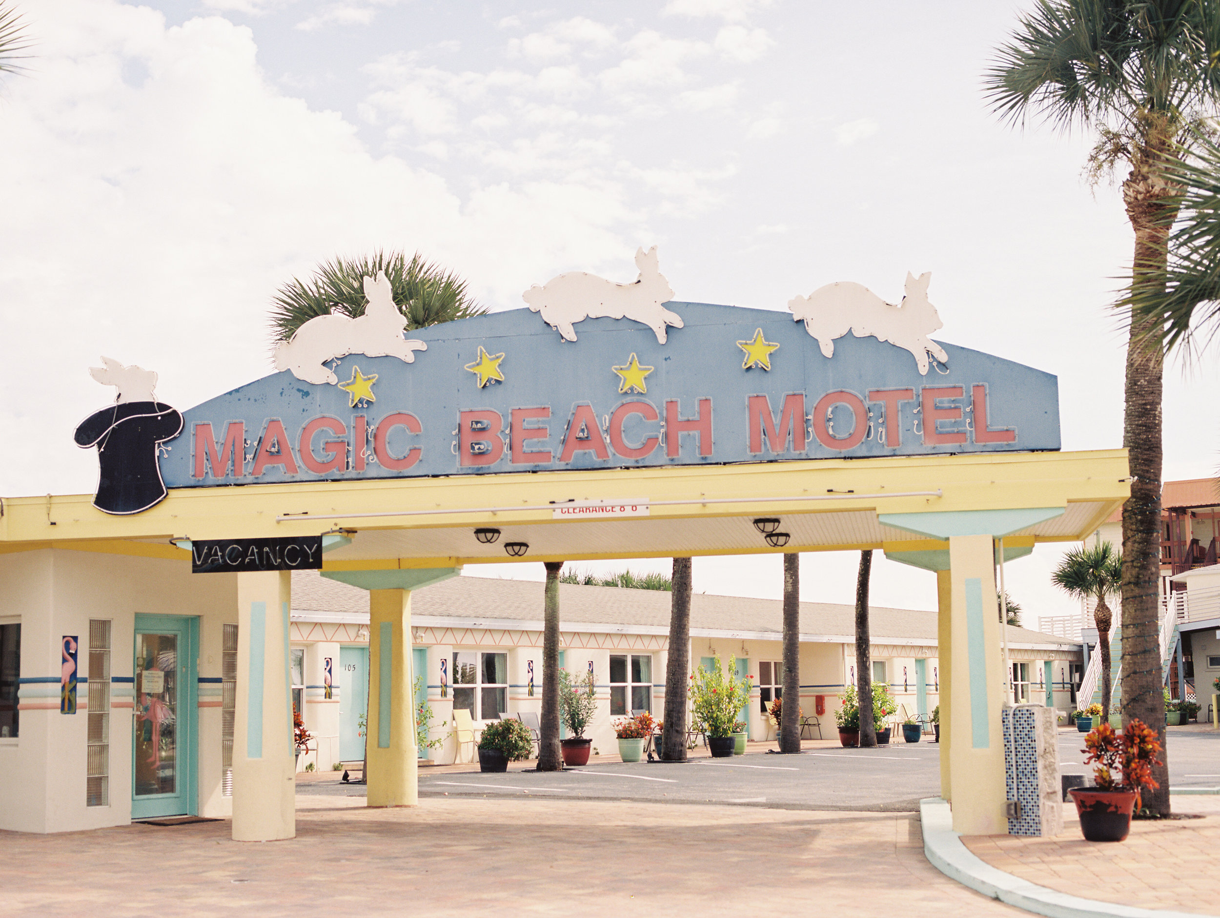 magic beach motel st augustine vilano beach travel film photographer