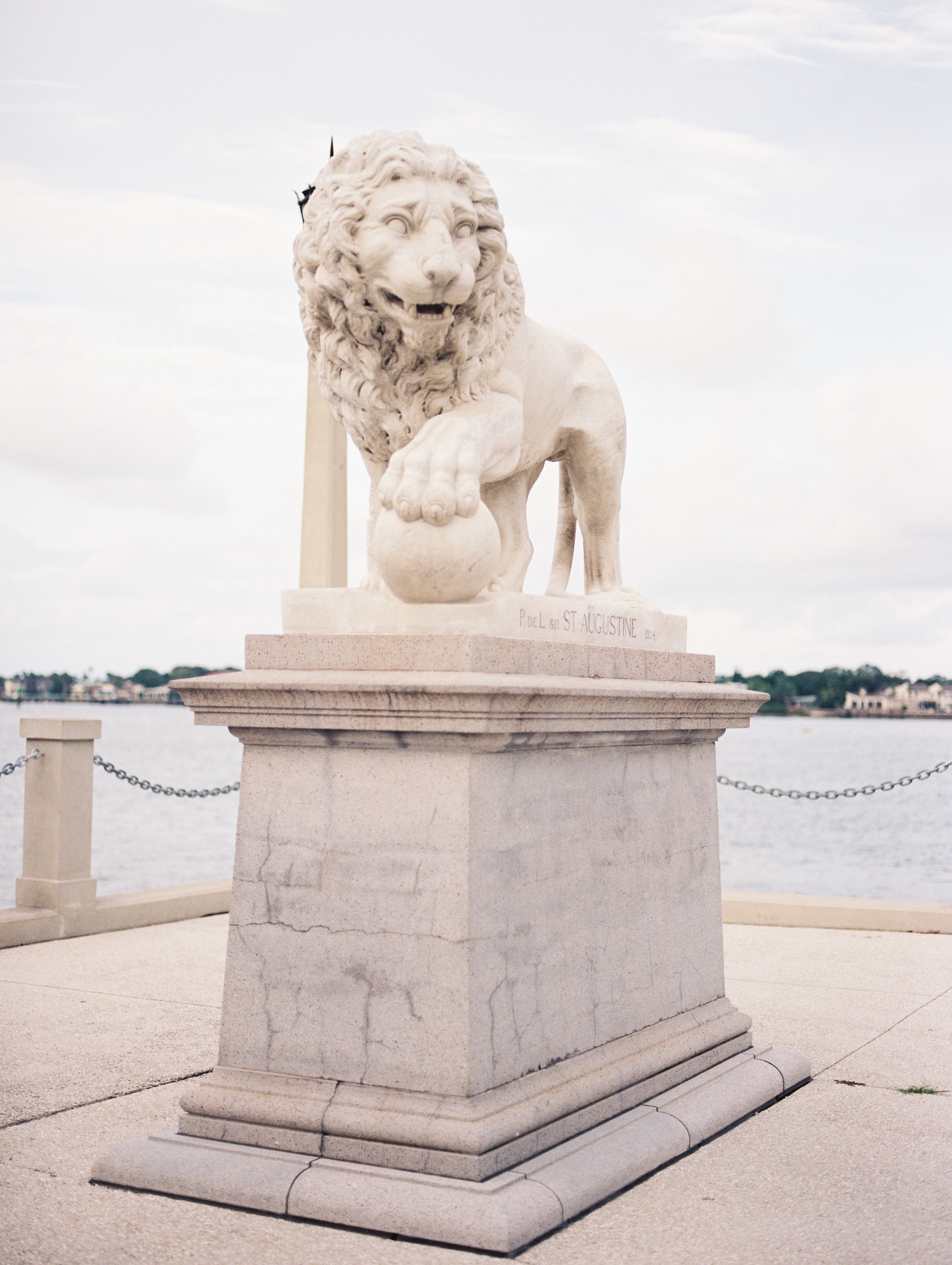 lion bridge st augustine florida travel film photographer