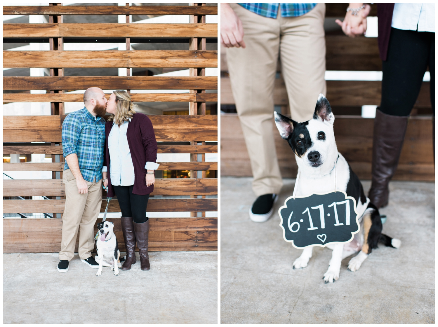 ponce city market atlanta engagement session