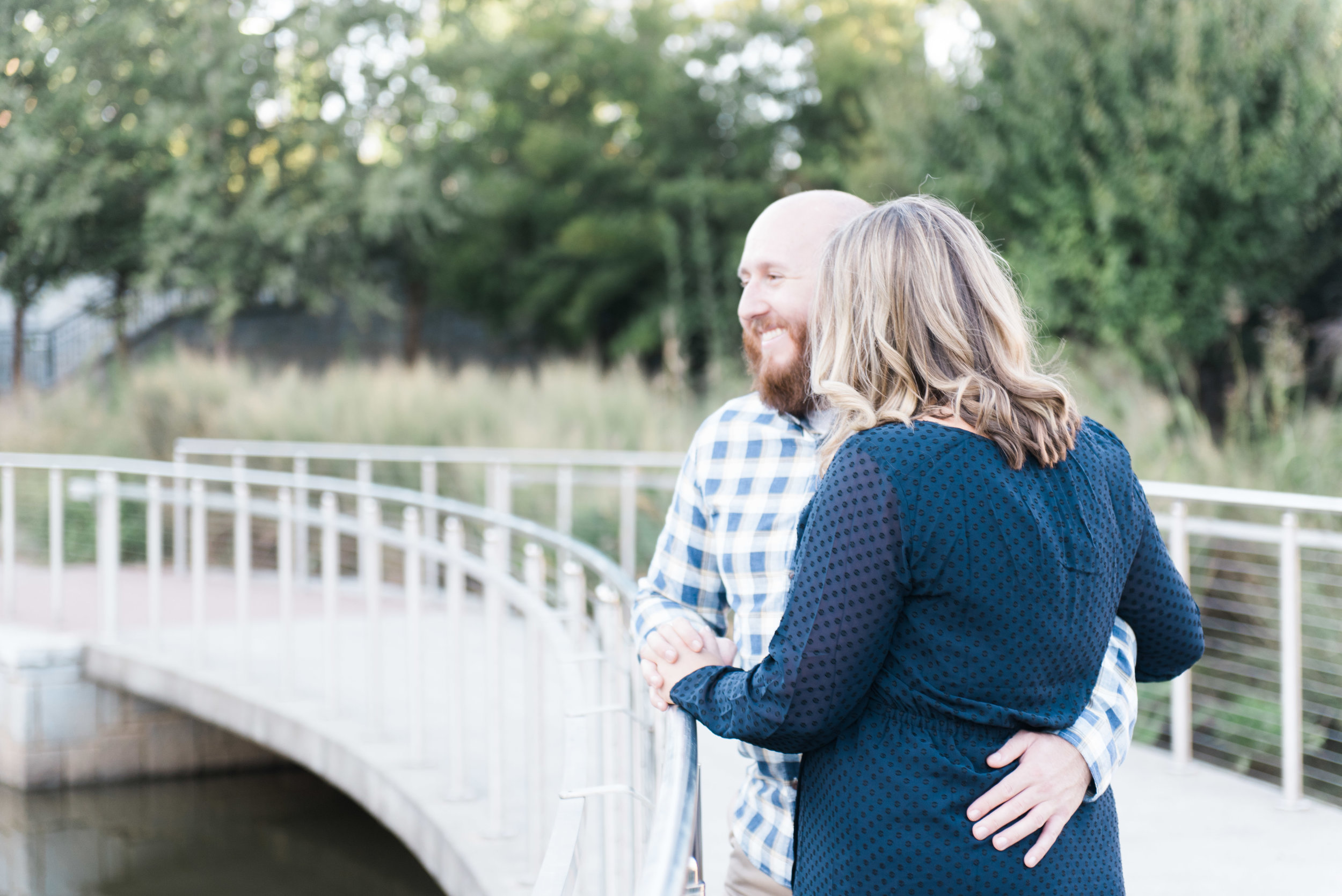 old fourth ward park atlanta engagement session