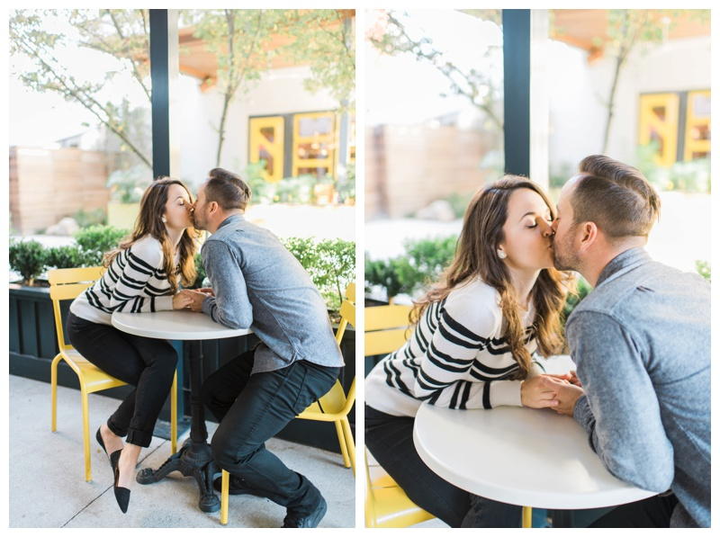 bread and butterfly inman park atlanta engagement session