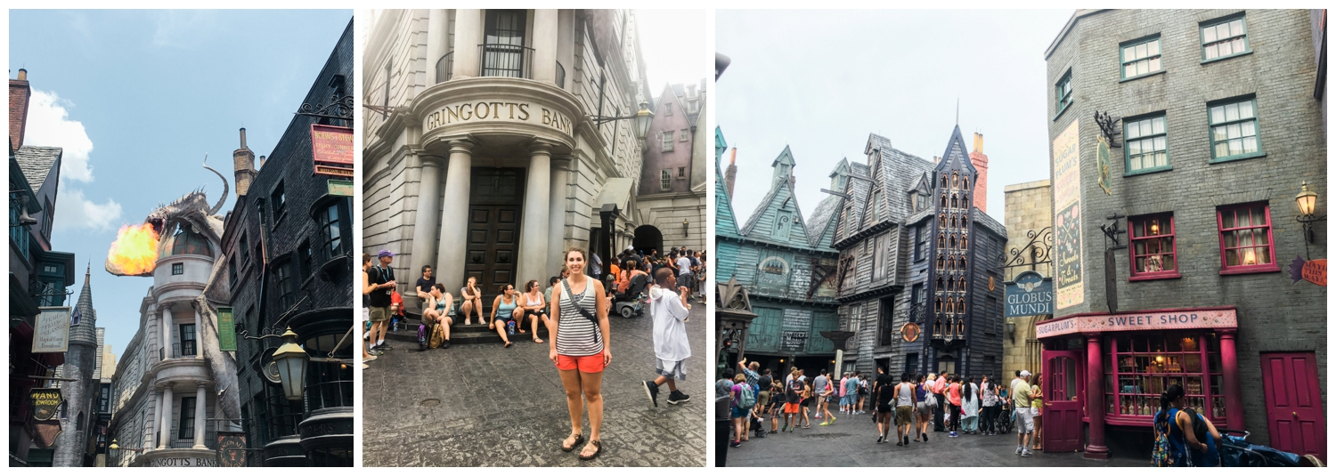 diagon alley gringotts harry potter world