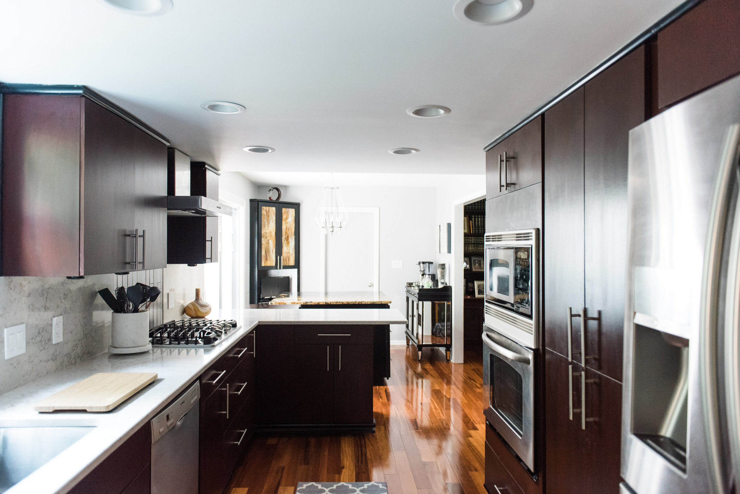 atlanta interiors photographer rose hall kitchen remodel