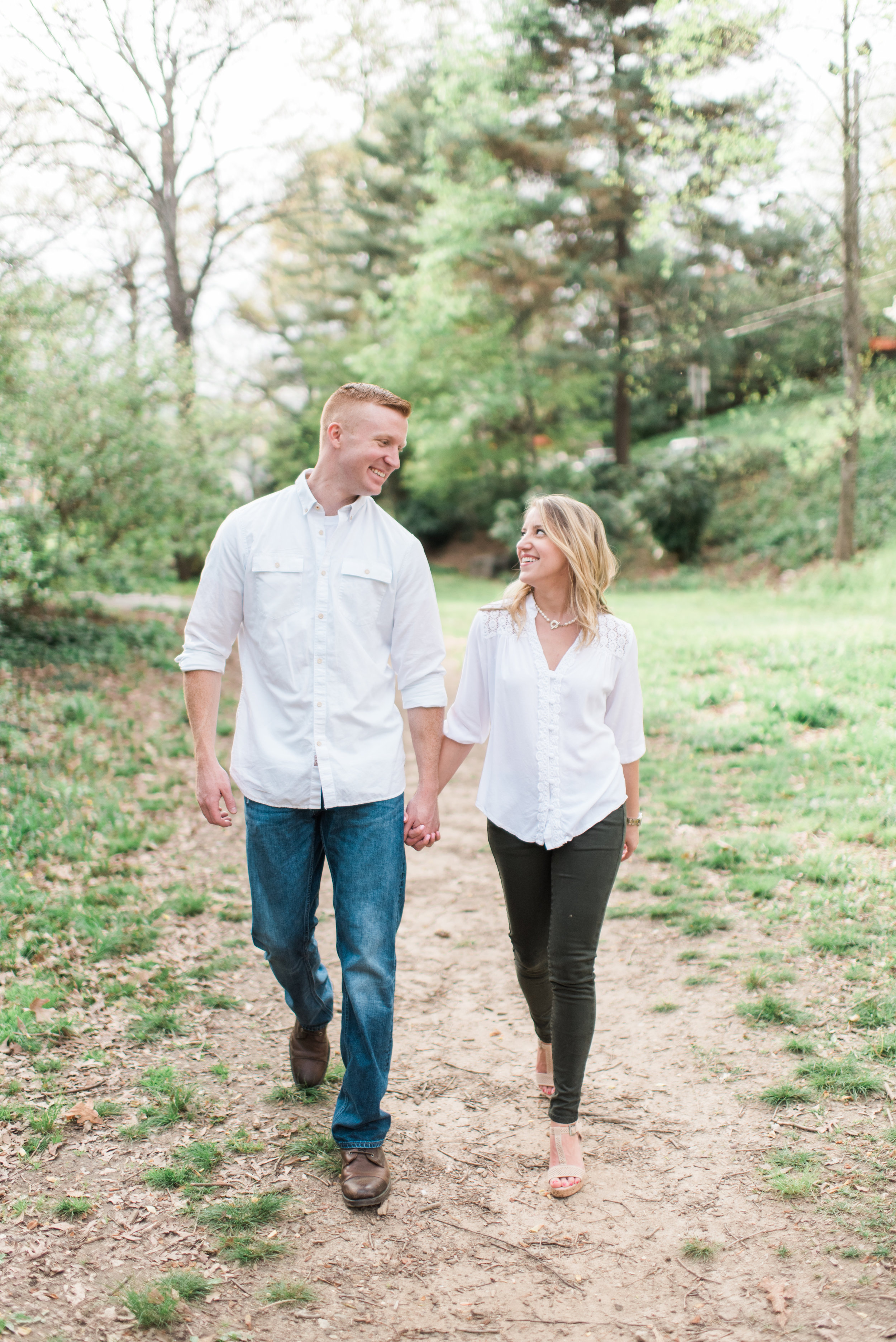 midtown atlanta engagement session
