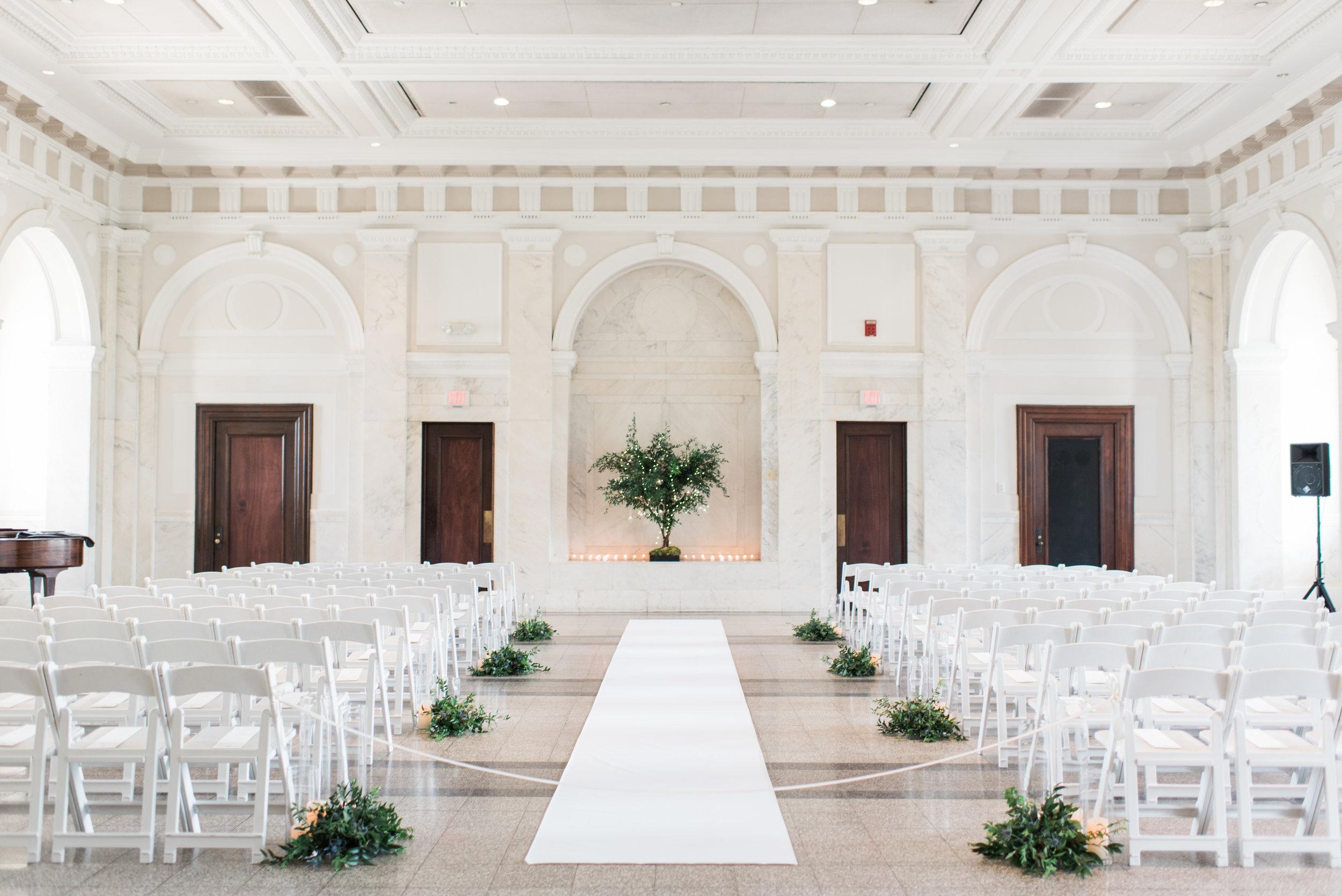 historic dekalb couthouse wedding