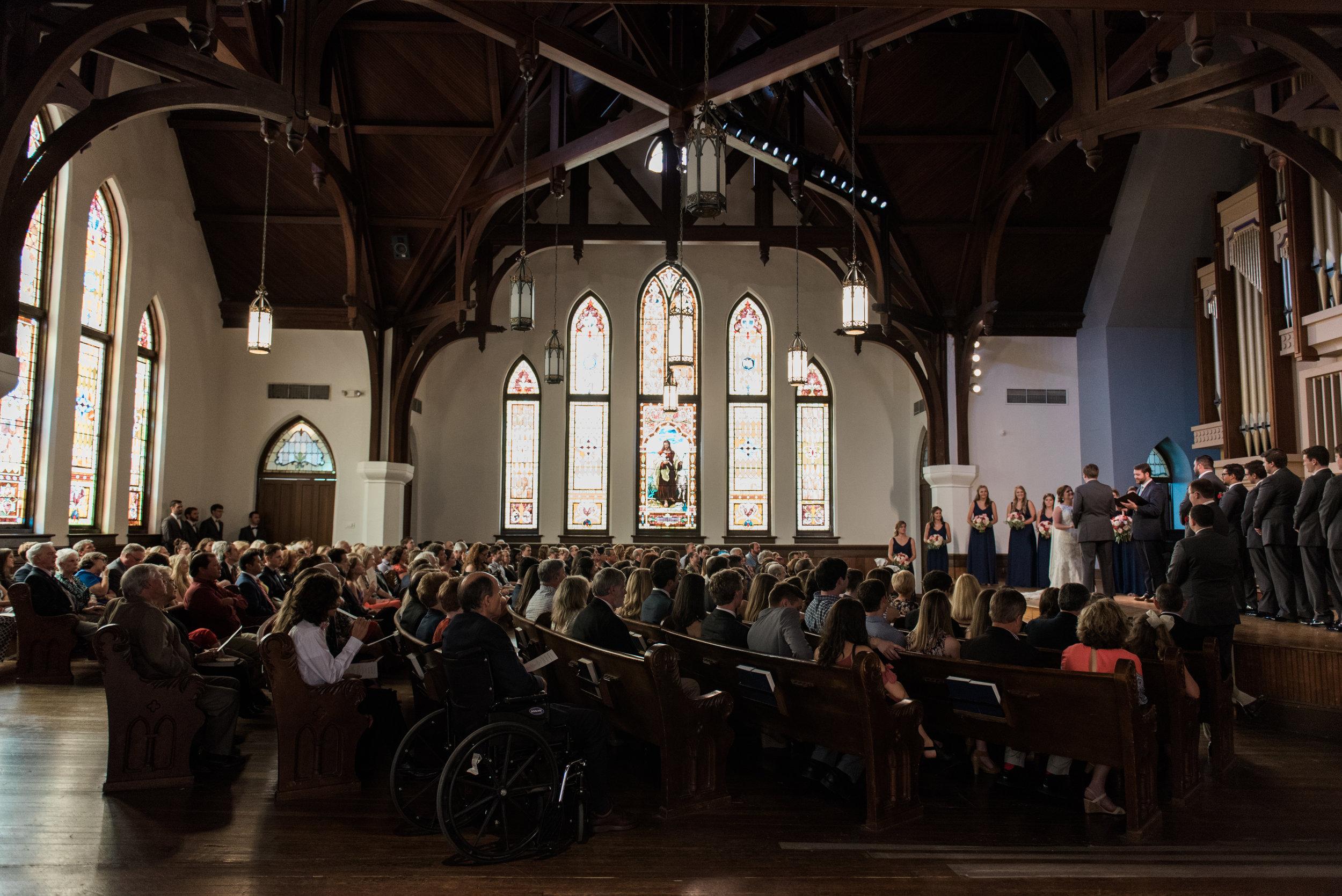 newton chapel mercer university wedding