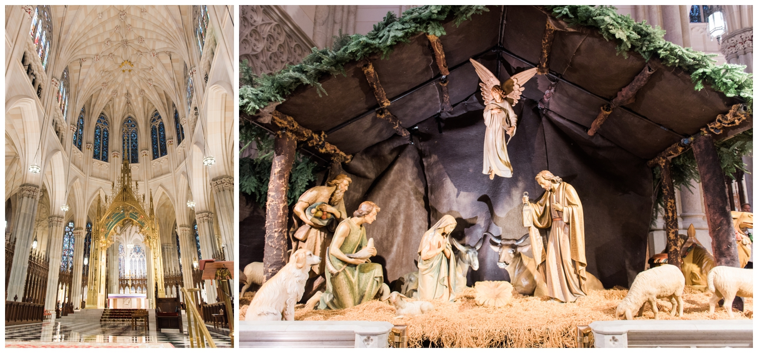st patrick's cathedral christmas