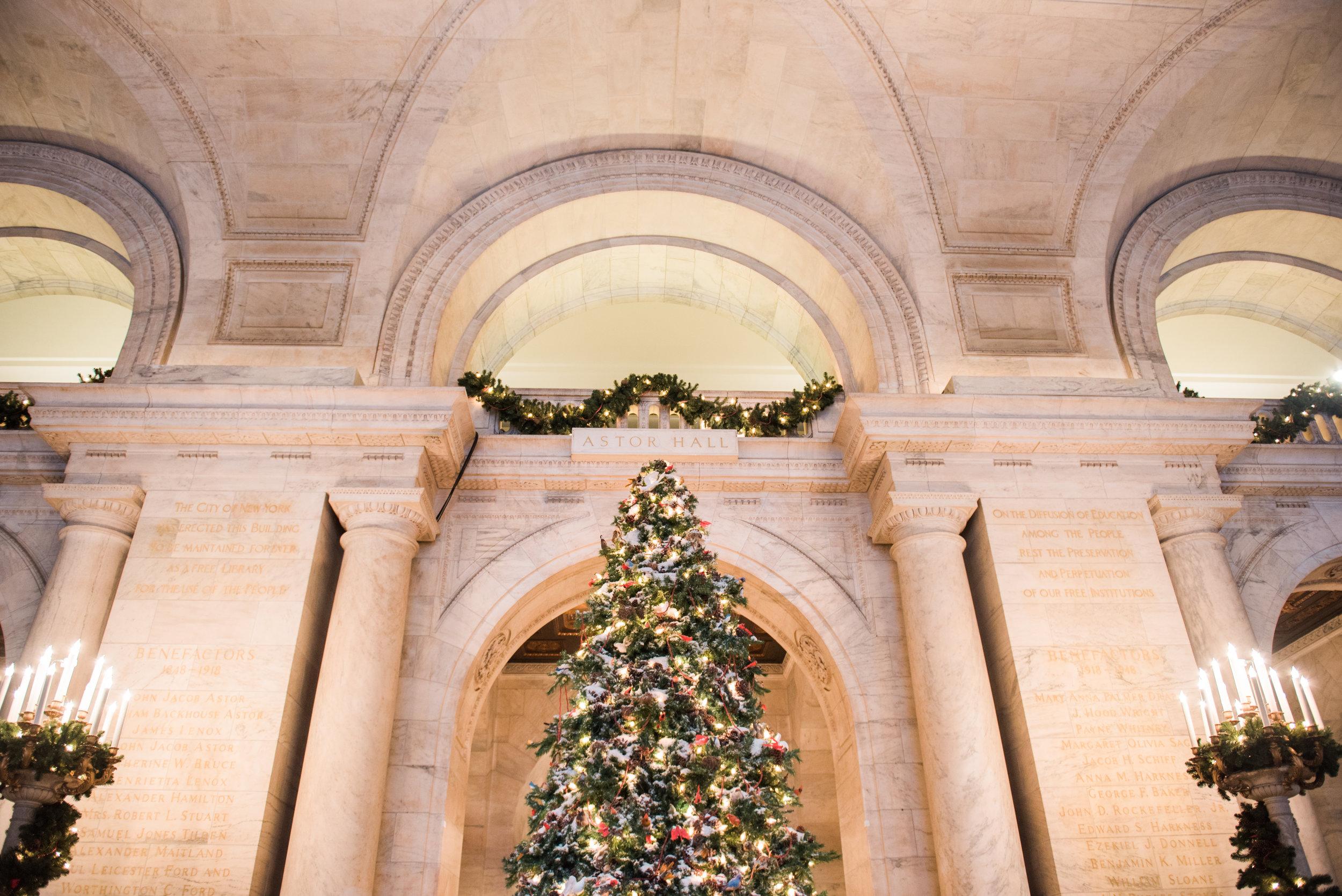new york public library christmas