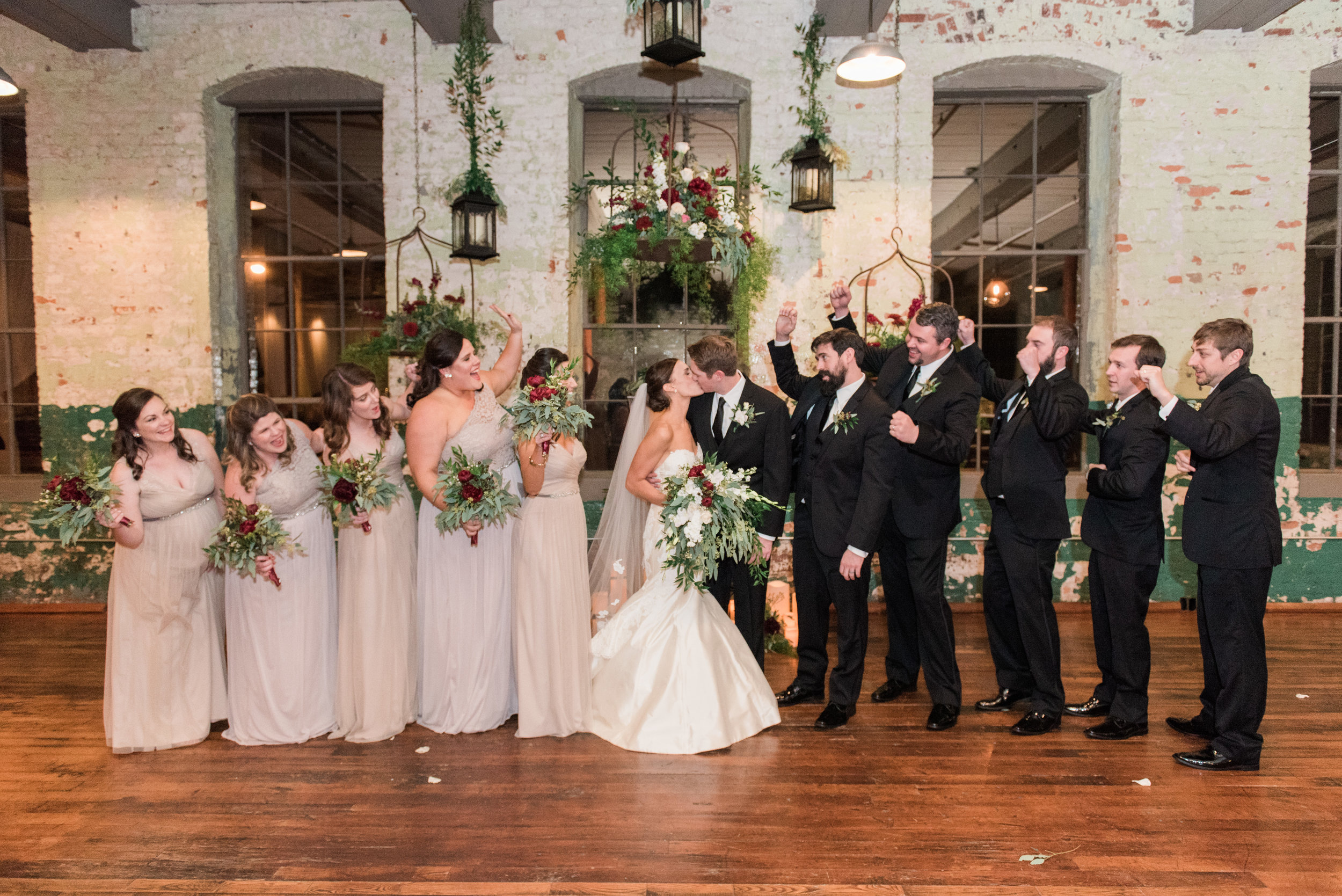 the engine room wedding