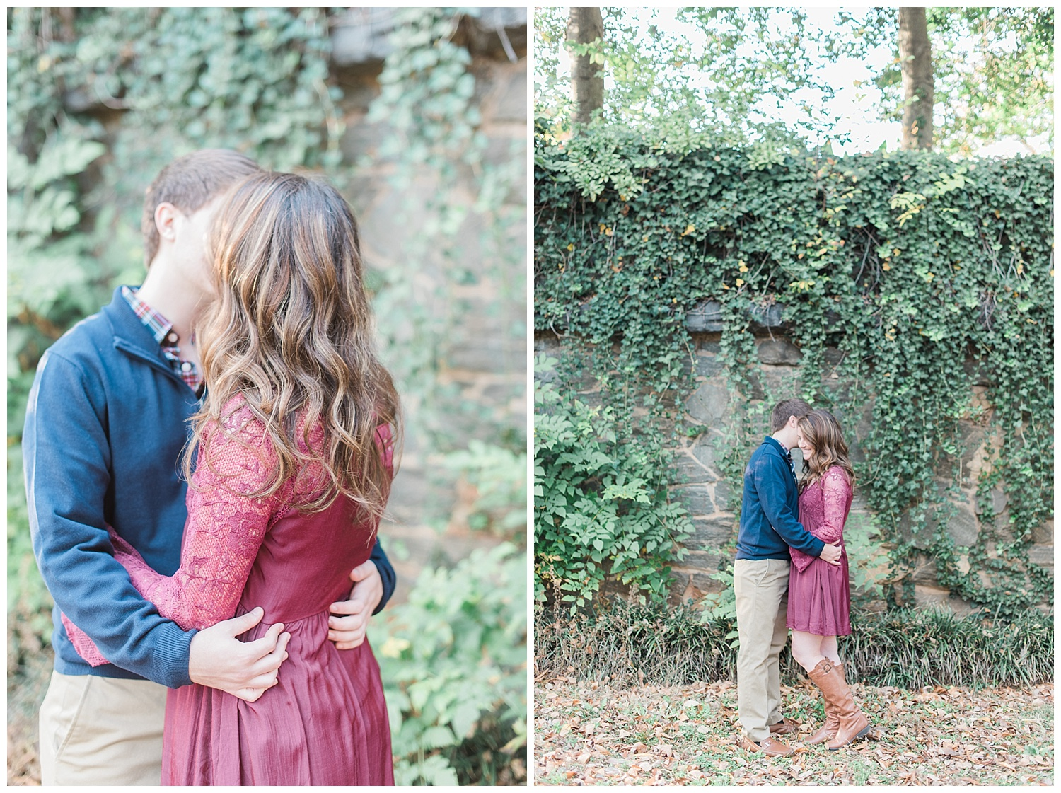 piedmont park engagement session atlanta