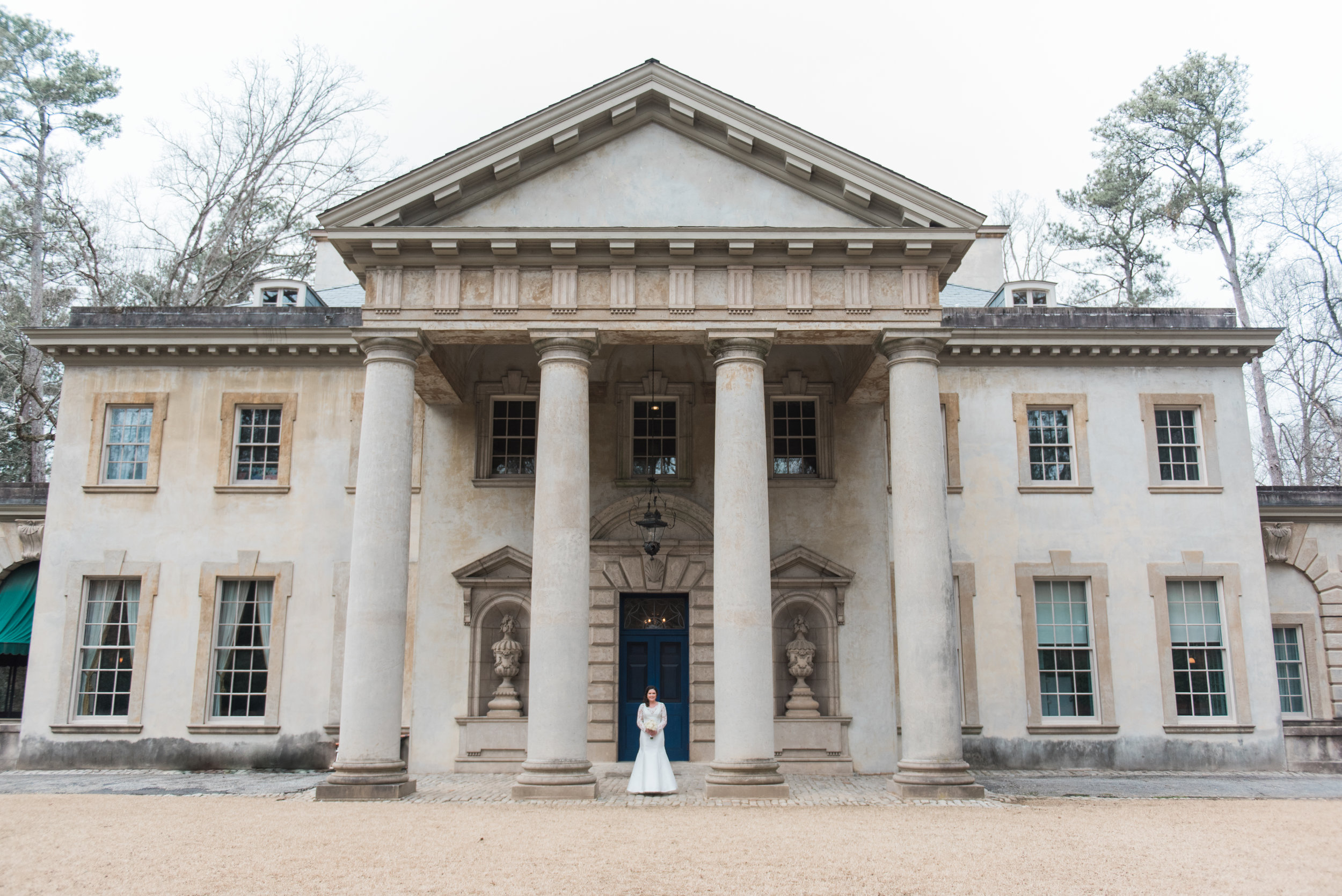 swan house wedding photographer