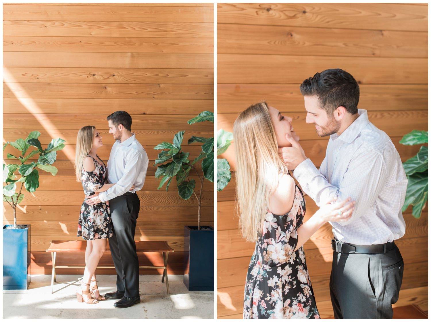 east pole coffee company engagement session