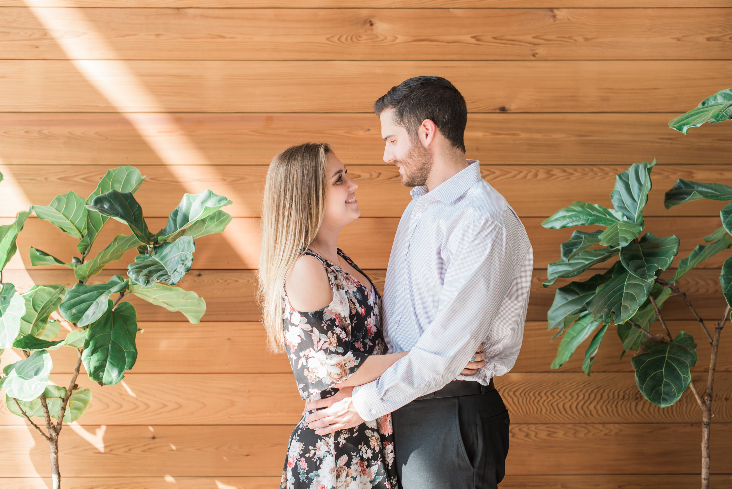 east pole coffee atlanta engagement session