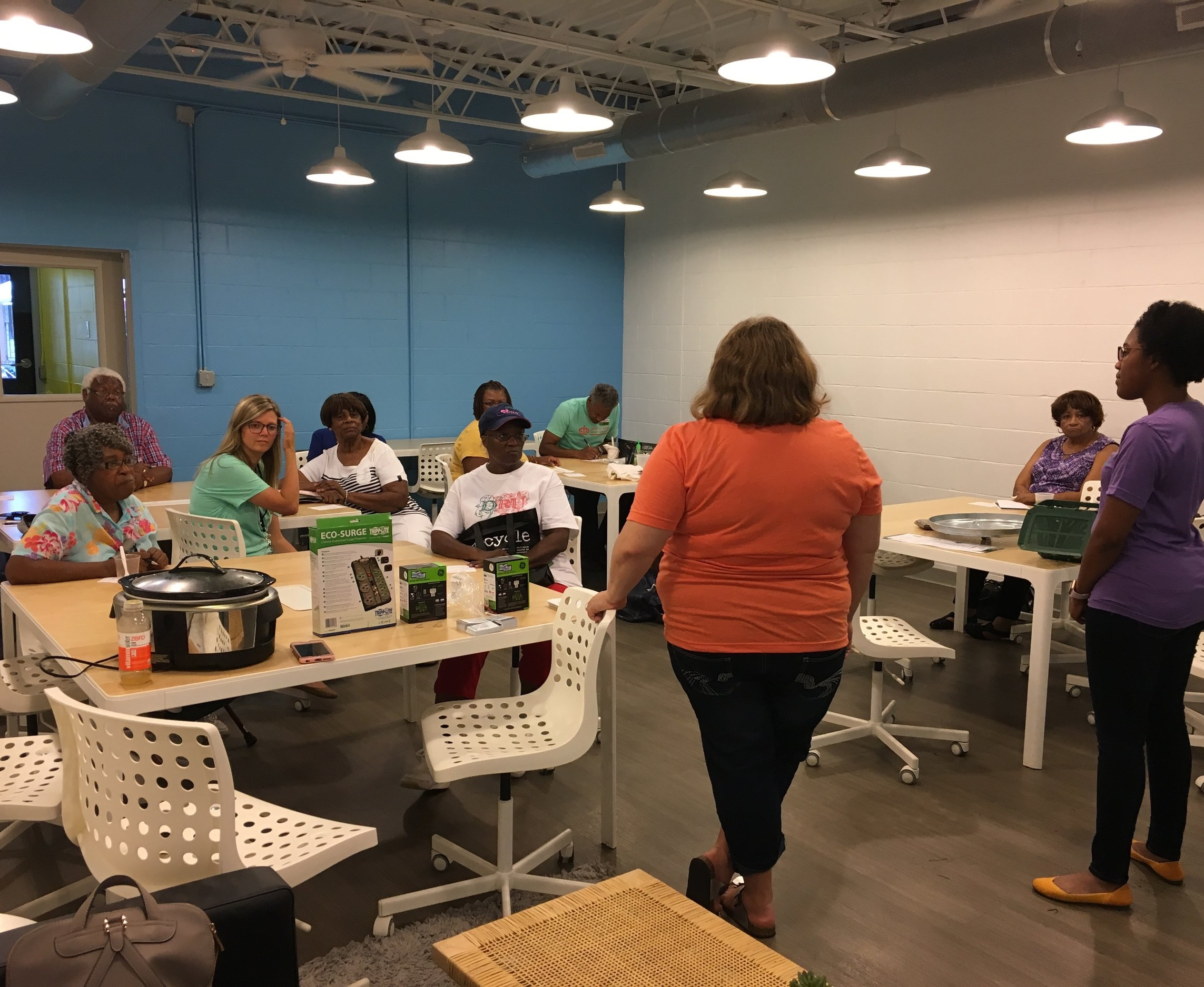 DeAndrea, Founder of RETI, is co-hosting a Smart Homes workshop for the North End Community with the City of Charlotte.