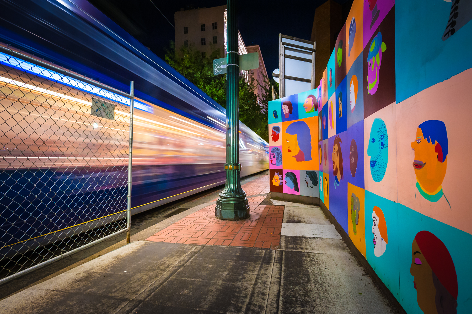 MAX Light Rail, Morrison St. Portland, OR 2013