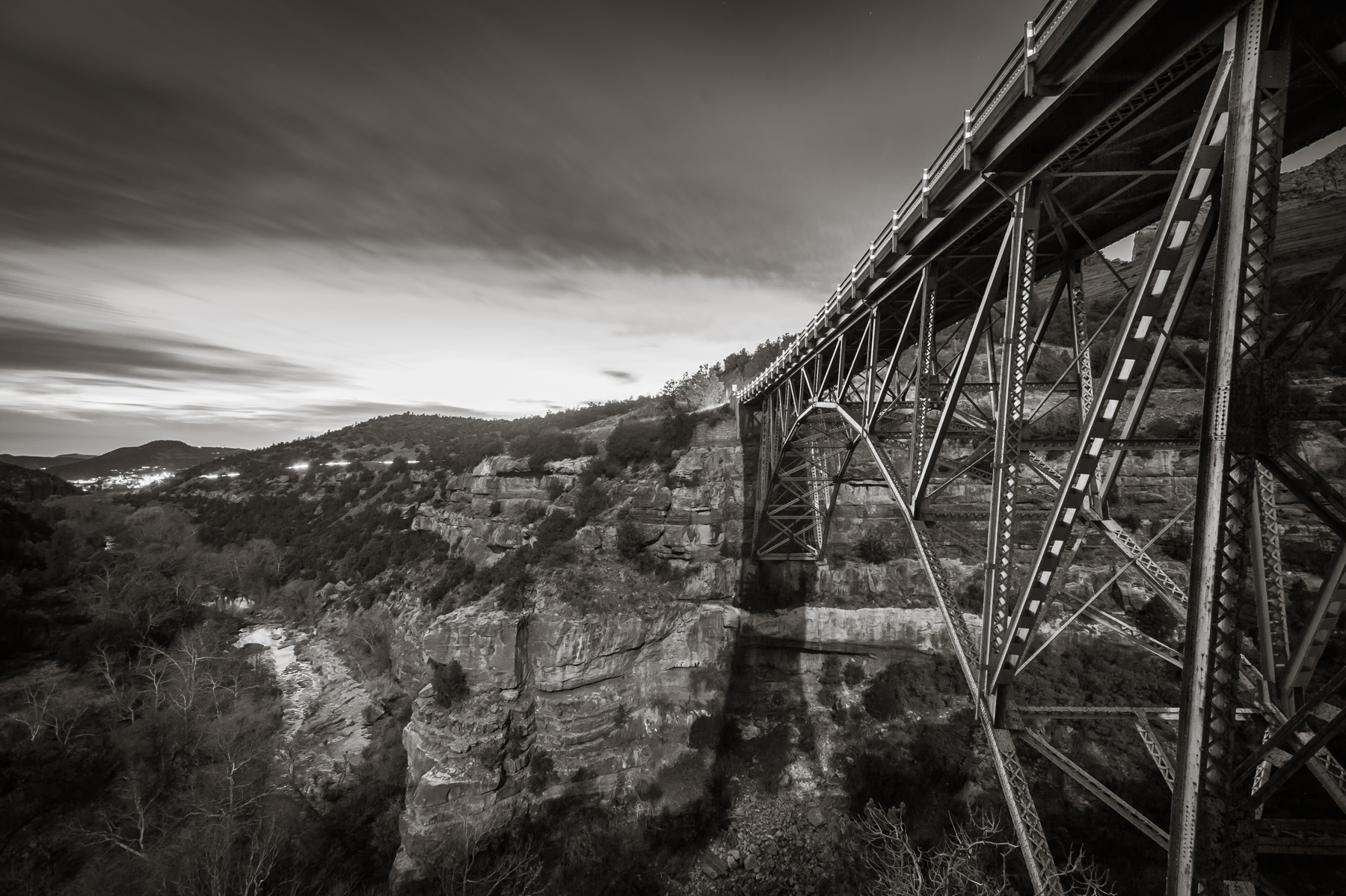 Midgely Bridge over Oak Creek Canyon  Sedona, AZ 2012