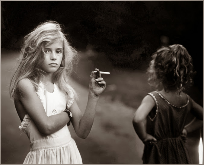 Candy Cigarrette ©Sally Mann