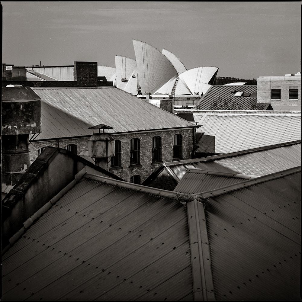 Rooflines from Sydney Harbor Bridge  Sydney, 1994