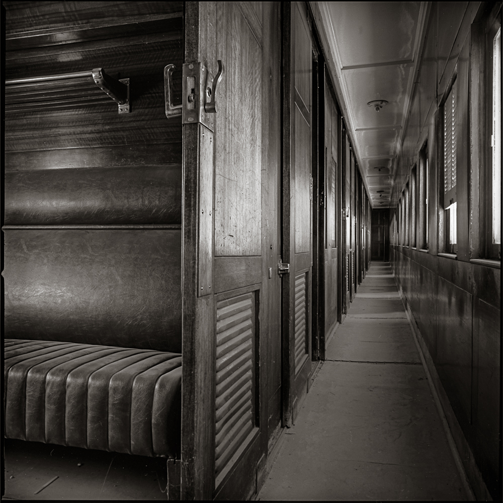 Second Class Sleeping Car, The Old Ghan  Alice Springs, Northern Territories 1994