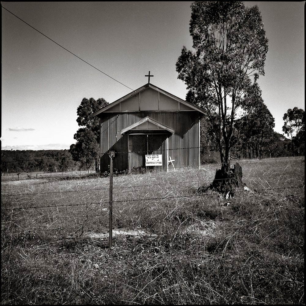 Tin Church near Capertee  New South Wales, 1996