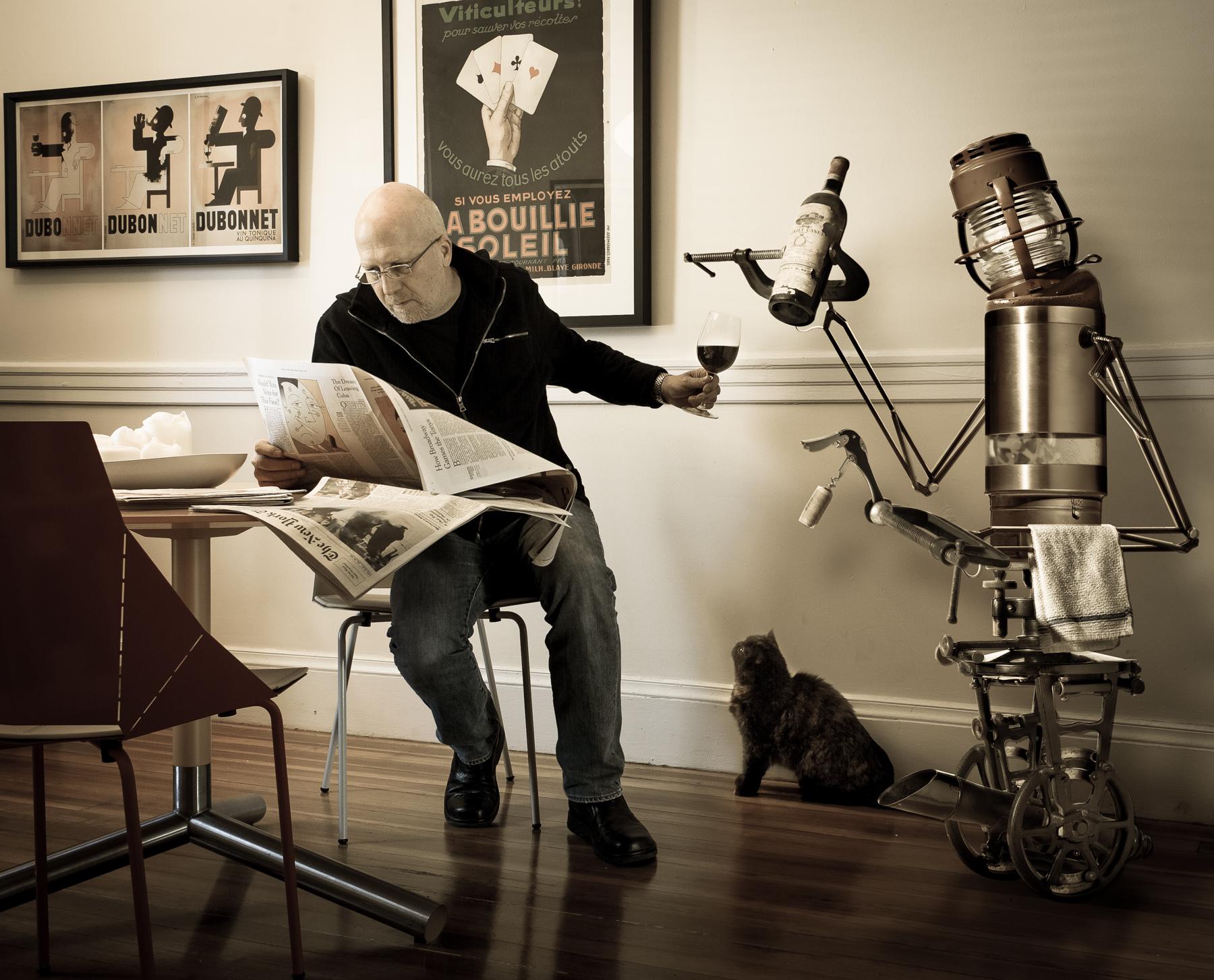 My take on the Household Robot © Randall Armor