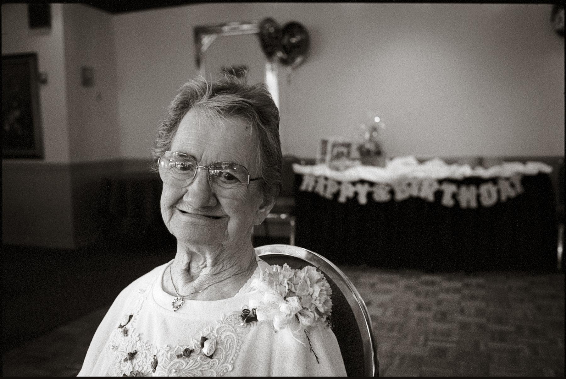 My grandmother, Ella Fruggiero, at 90 Berlin, NJ 2001