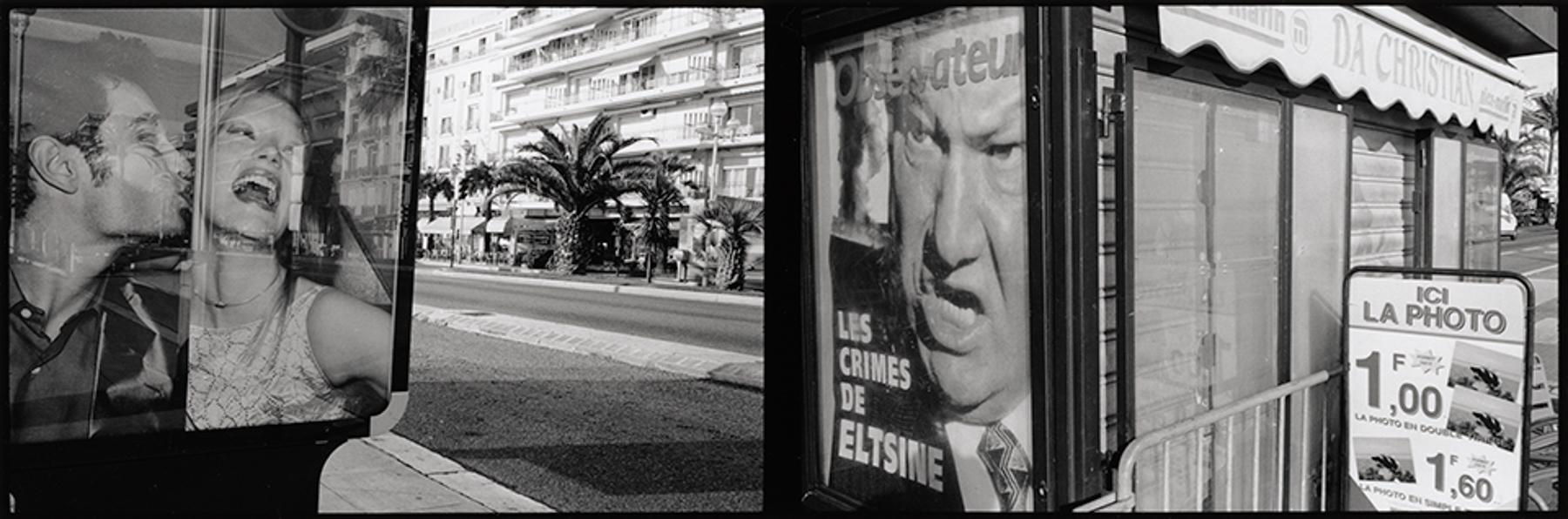 Promenade des Anglais (dyptych) Nice 1999