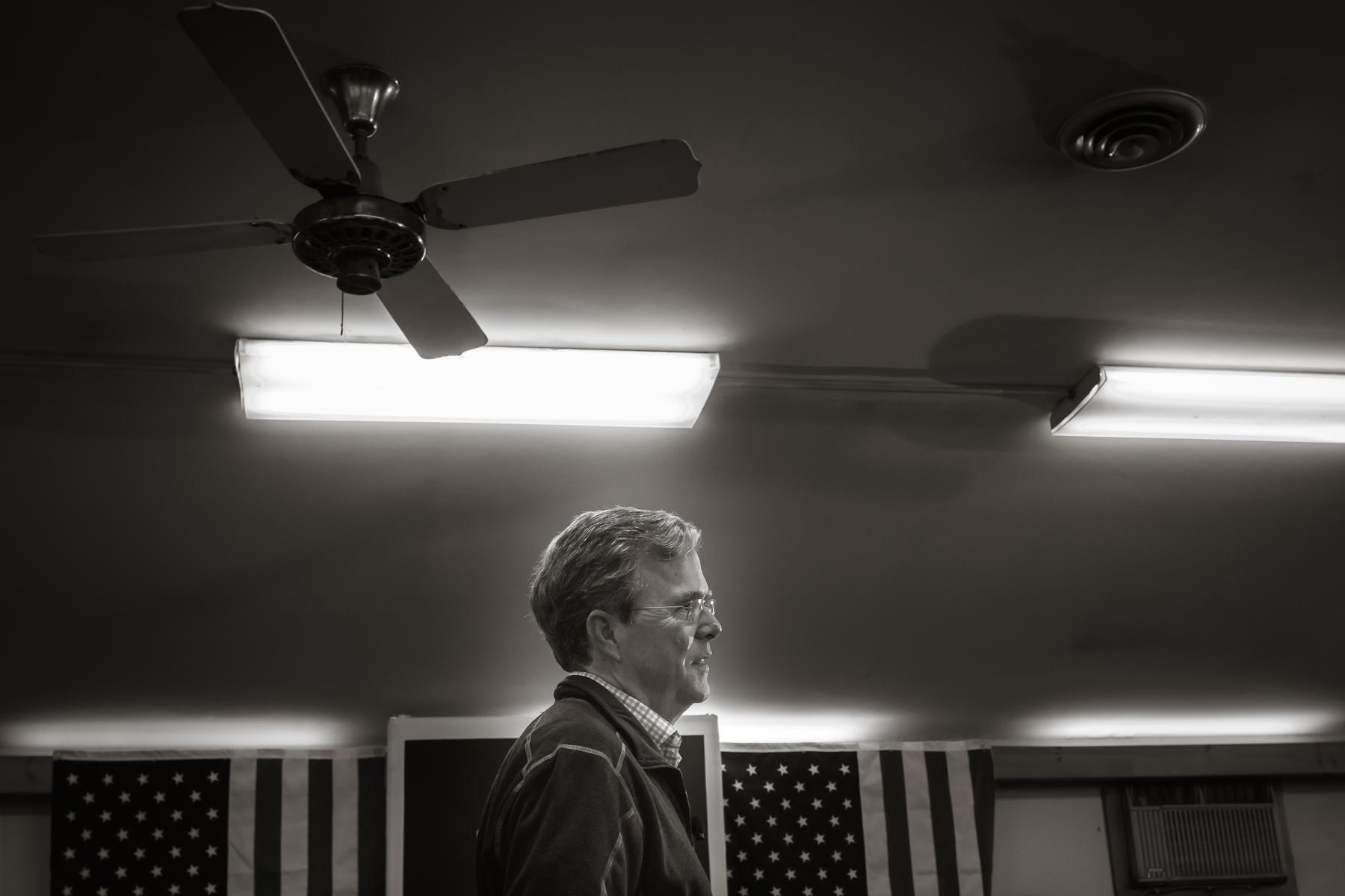 Governor Jeb Bush   Littleton NH 2015