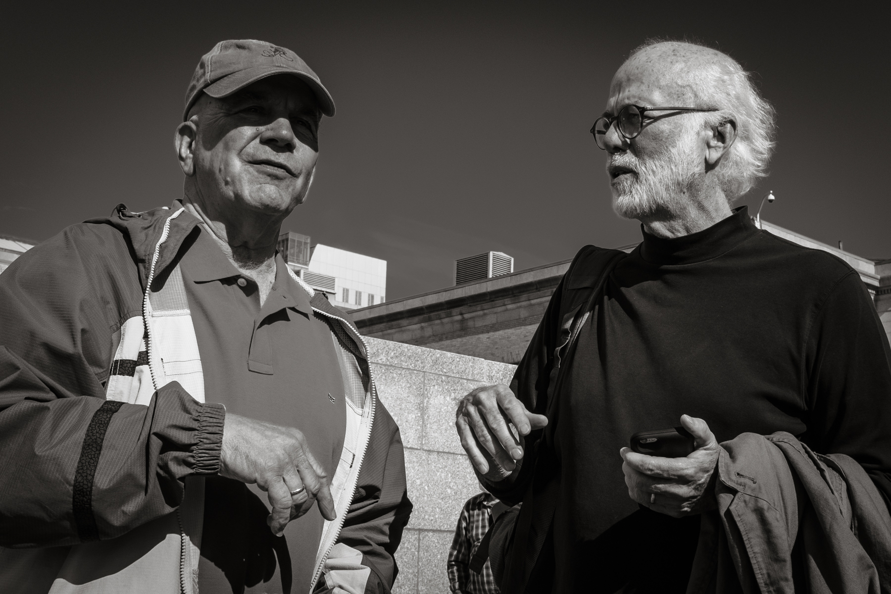 Pulitzer Prize winning photojournalists Stanley Forman and David Hume Kennerly   Boston 2016