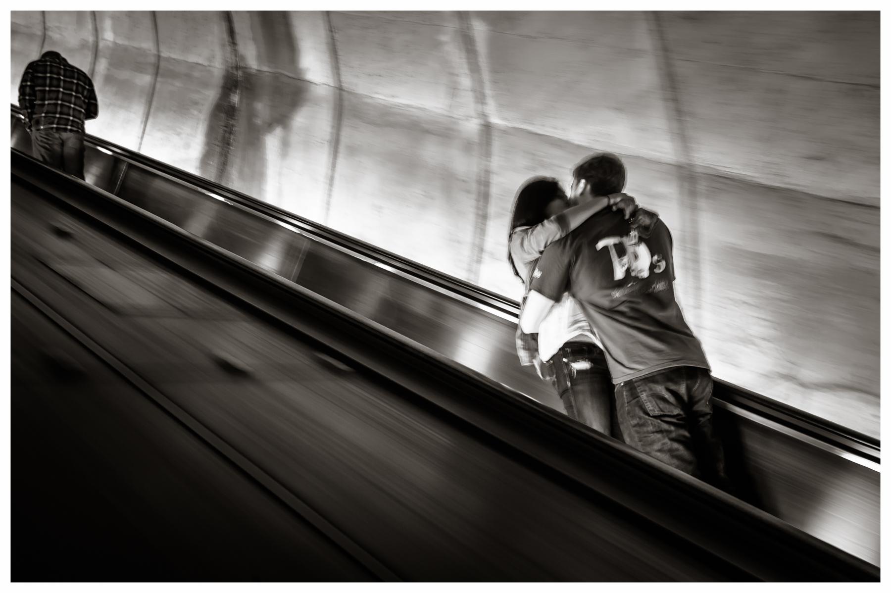 Metro Escalator  Washington, DC 2014