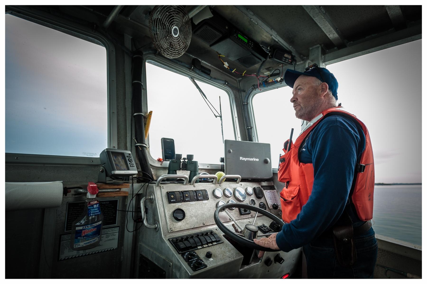 Captain Mike McDevitt   Boston Harbor Islands National Recreation Area 2016