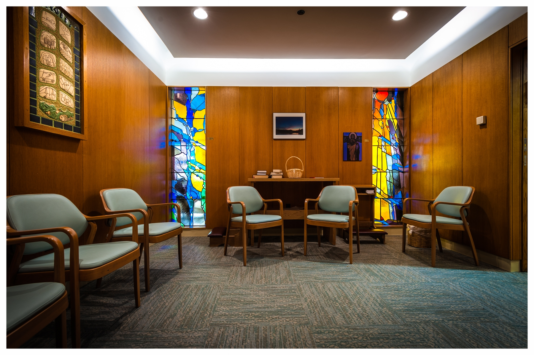 Wolfson Chapel, Beth Israel Deaconess Hospital   Boston