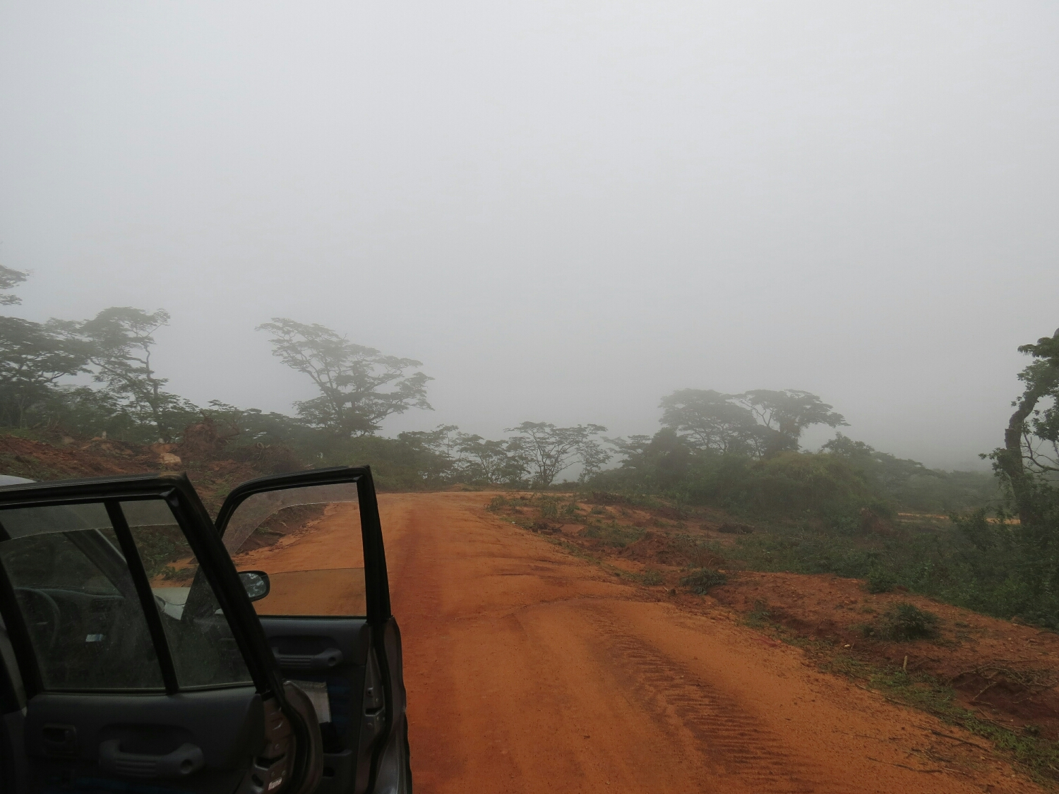 The cloud forest drive from Babati to Dodoma.