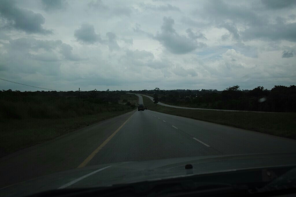 The dweet divided highway from Ndola to Kitwe. Photo: K. Fleurial
