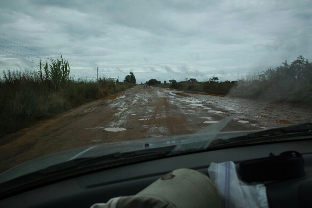 The nonexistent road from Kafue NP to Kaoma. Photo: K. Fleurial
