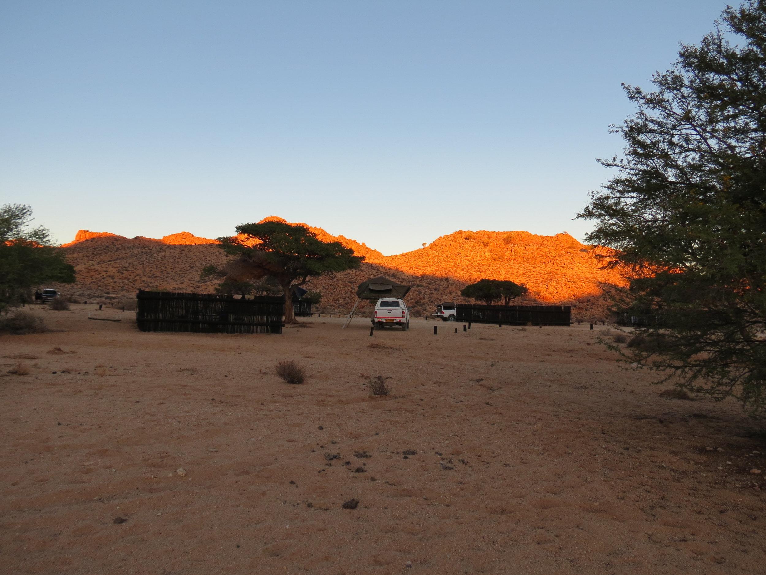 Klein-Aus viewpoint campsite