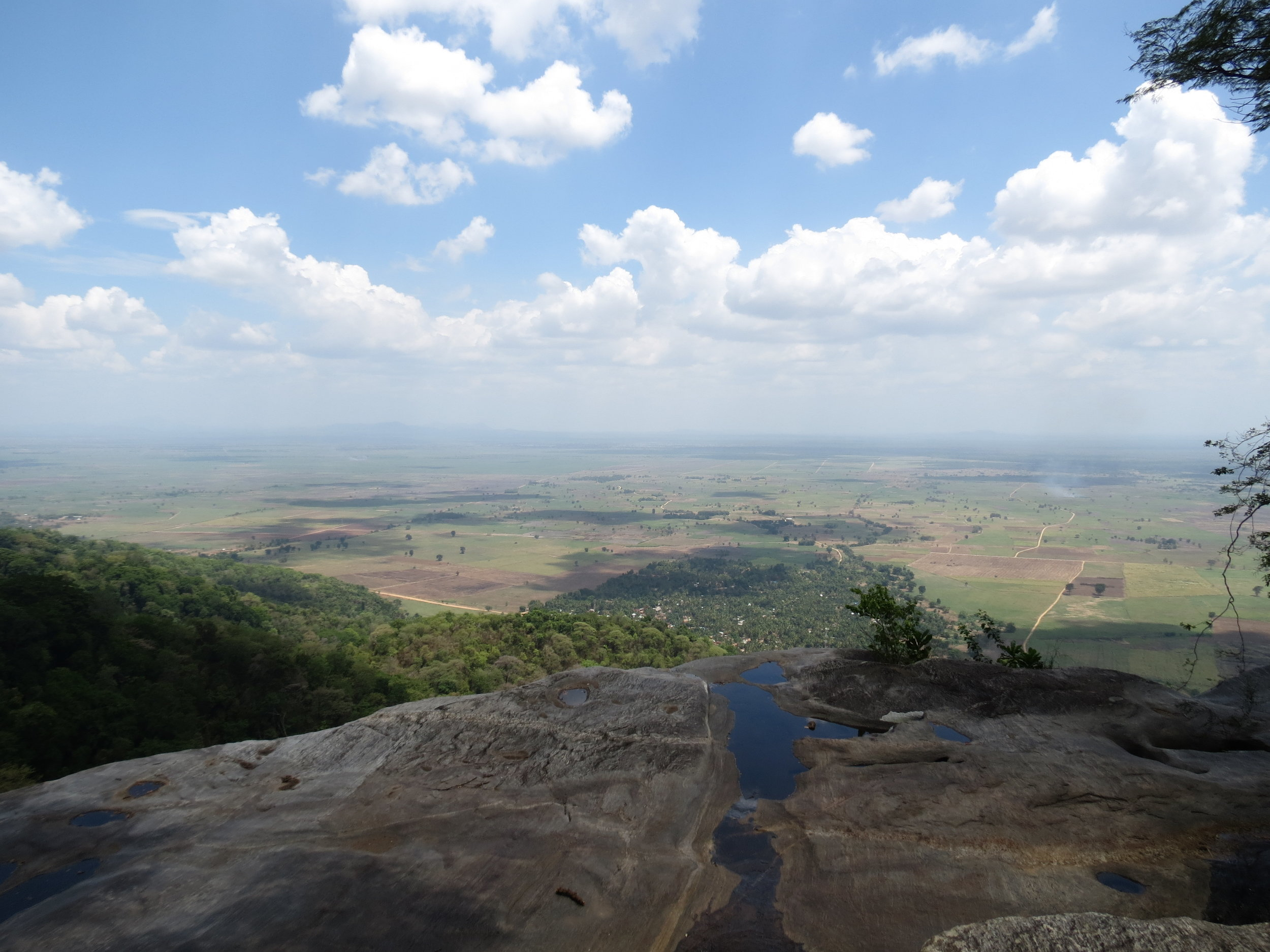 View from Sanje Falls