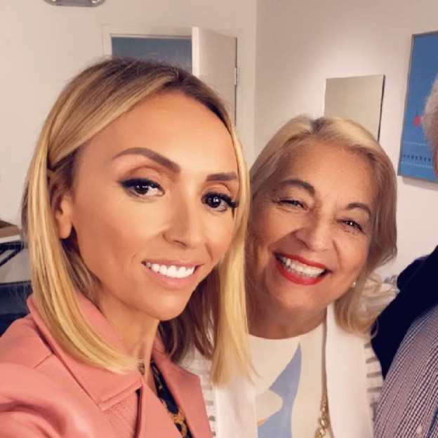 Some very special VIPs on @hsn with me tonight ❤️ Mama and Papa DePandi are here!!! My dad, being a master tailor from Naples, Italy, is loving my new collection that I'm launching and I am so excited to have my parents on with me live tonight. See you at midnight eastern / 9pm pacific on HSN! Click link in bio to shop it online ❤️