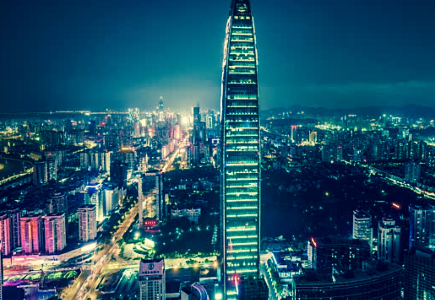 KK 100 Building, Shenzhen, China