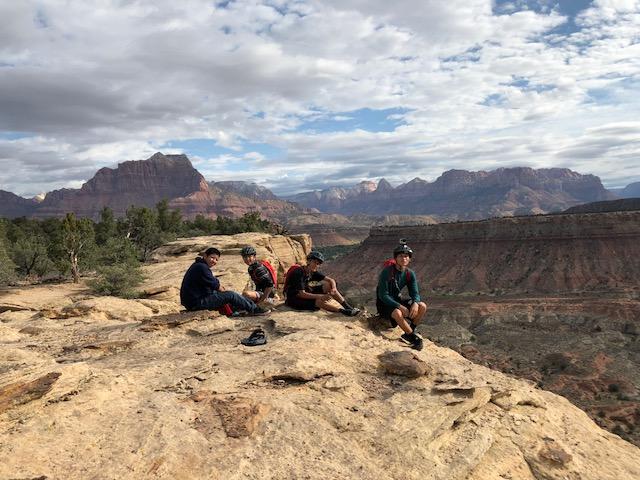 Zion national park hike