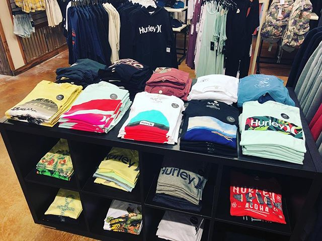 Stop into East Side Surf Shop and take a look at the all-new styles of Hurley Dri-Fit Tees, Knit Button-Ups, and light weight hoodies! #EastSideSurfShop #Wildwood #Hurley #surf #sports #style