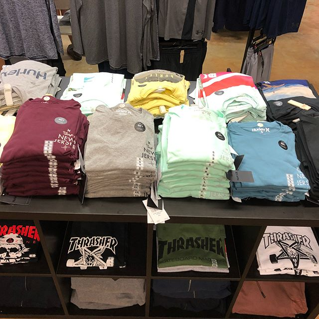 Surf New Jersey like a local with New Hurley Soft Tees available now!
