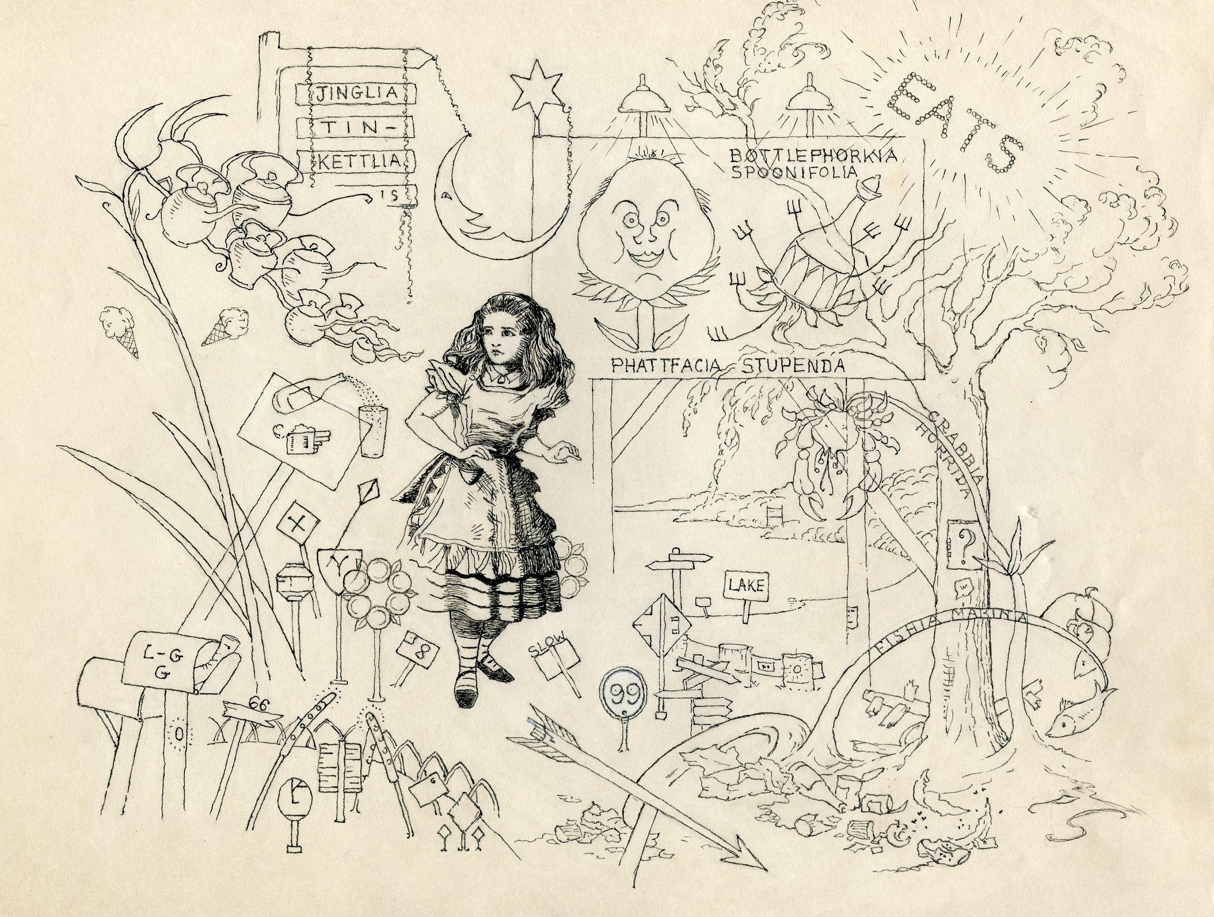 MSB, Twentieth Century Alice, c. 1940's.