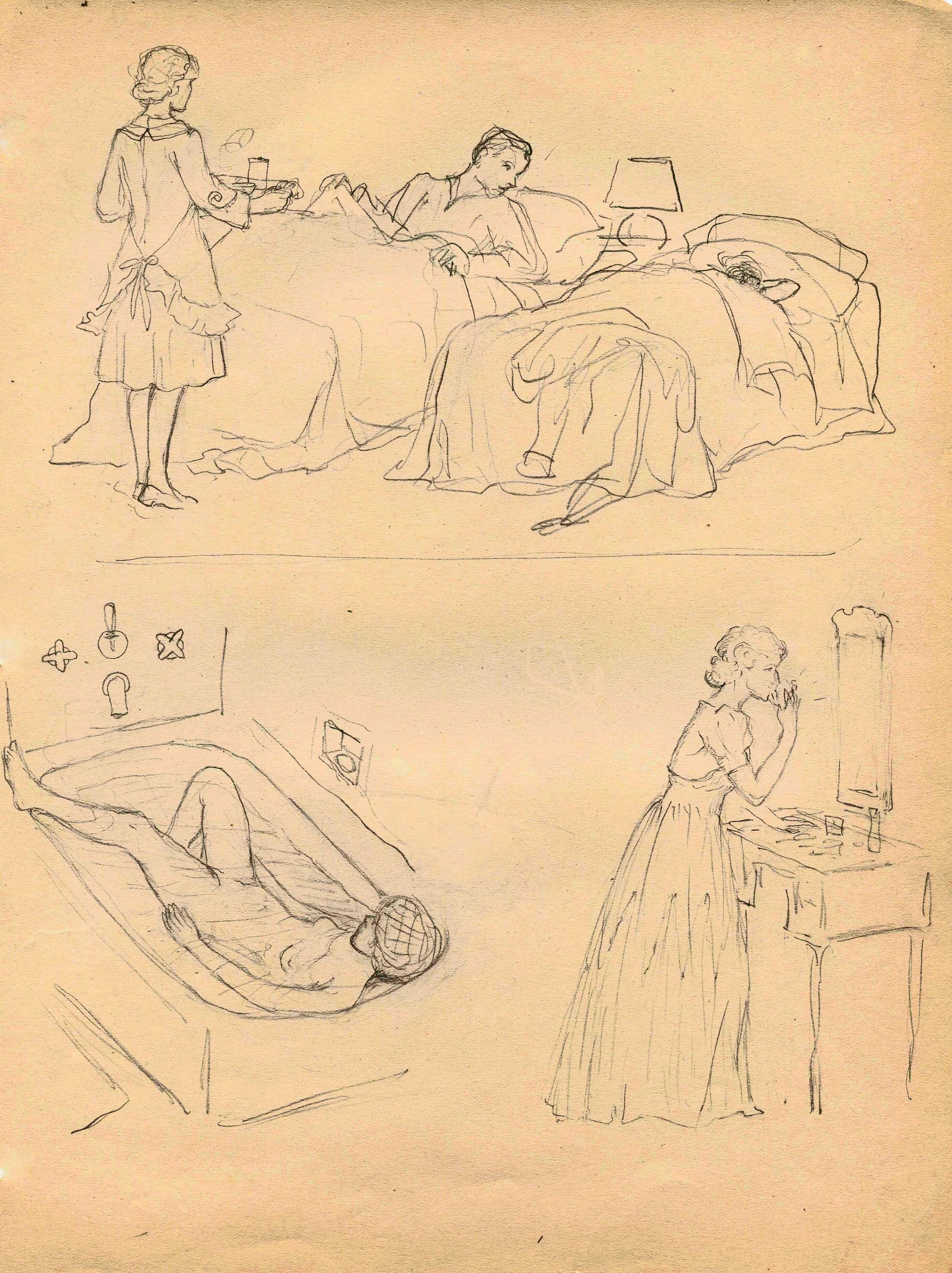 MSB, Cartoon Series (San Carlos Hotel, NY, 1941.
