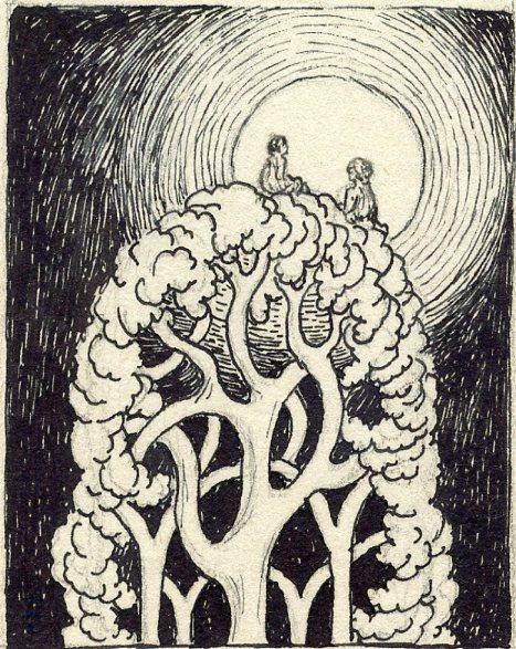 MSB, Tree Fairies, Small Series, c. 1940's