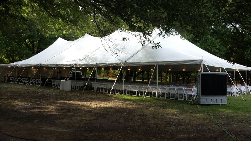 Rent a tent for any banquet or a family reunion.