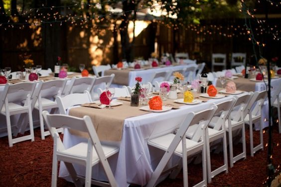 white table cloth and garden chairs and burlap.jpg