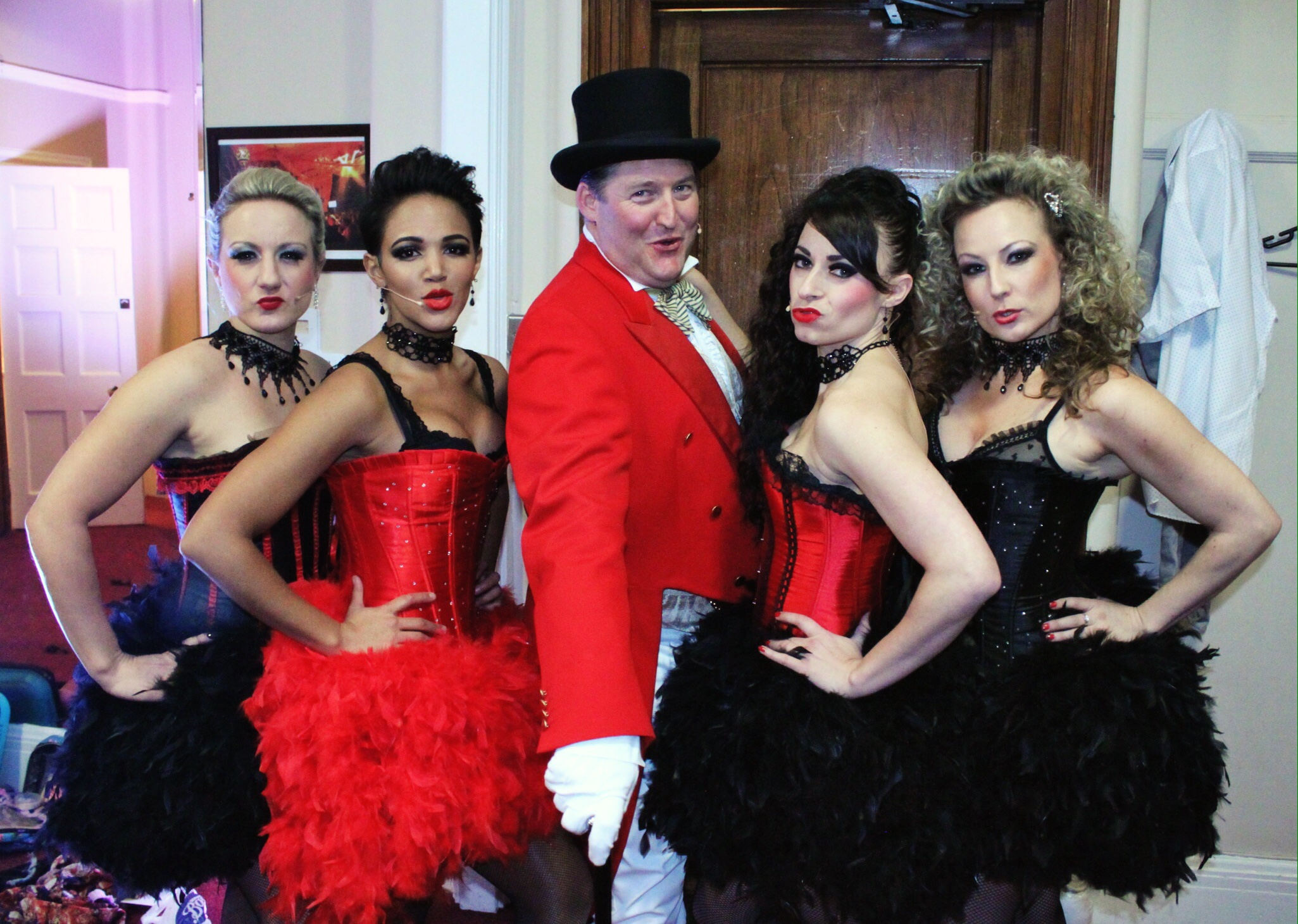 Moulin Rouge night at the Porchester Hall, London