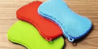 Stay Clean Sponge by Kuhn Rikon.