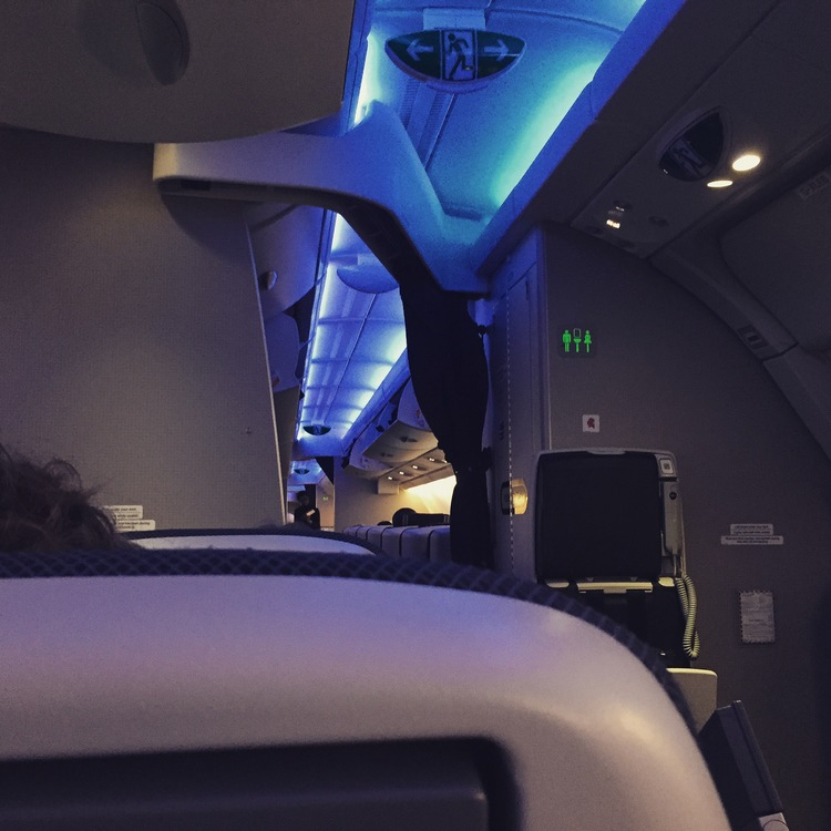 The aisle seat on my flight to London. Proximity to bathroom and leg room are the two major proshere. Ok, so maybe the proximity to the bathroom is a con, your call.